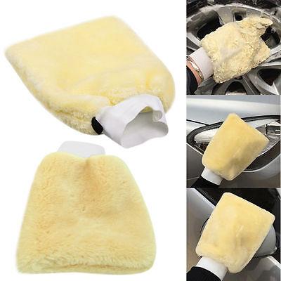 Heißer Minifiber Plüsch Mitt Autowaschhandschuh Waschhandschuh Reinigungsb UE Mitt