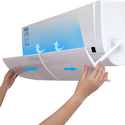 Anti Direct Blowing Retractable Air Conditioner Shield Cold Wind Baffle for Room