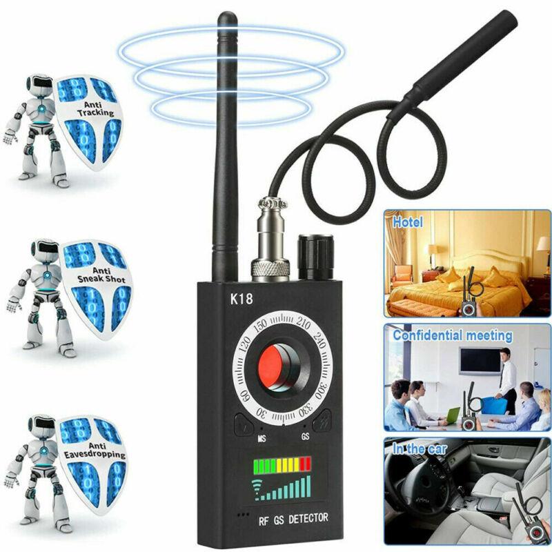 K18 Anti Spy Detector Camera GSM Audio Bug Finder GPS Signal Lens RF Tracker US