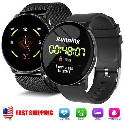 US Bluetooth Smart Watch Men Smartwatch for iPhone Samsung Galaxy S10 S9 S8 S7