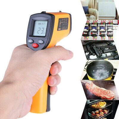 Lcd Non-contact Ir Laser Infrared Digital Temperature Thermometer Gun Pyrometer