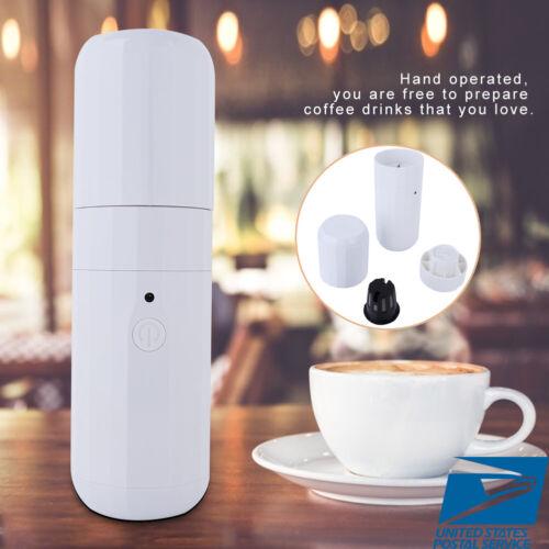 mini portable espresso maker manual usb coffee