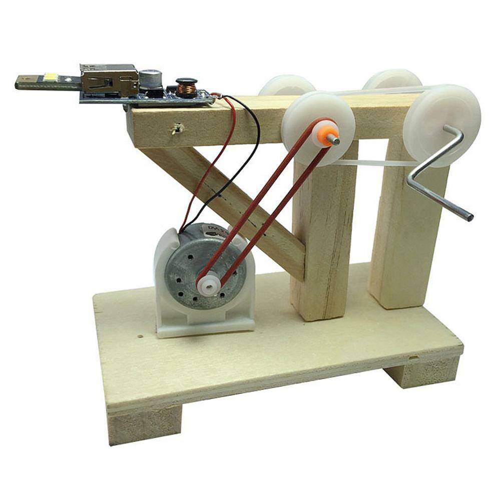 Kids DIY Doodle Robot Toys Children Experiment Science Project Educational Model