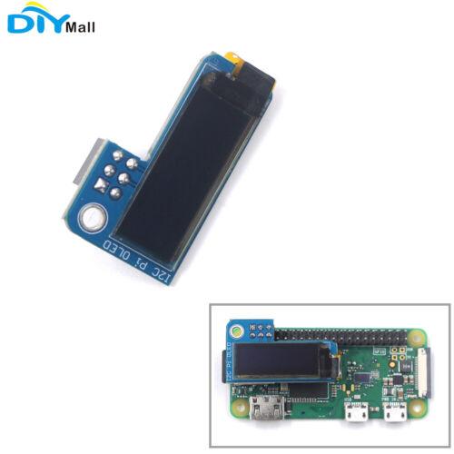 PiOLED I2C 0.91inch OLED Display Screen 128x32 SSD1306 Blue