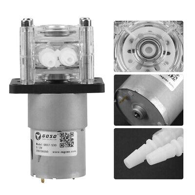 Dc 12v High Flow Peristaltic Pump Tube Vacuum For Aquarium Lab Analytical Water