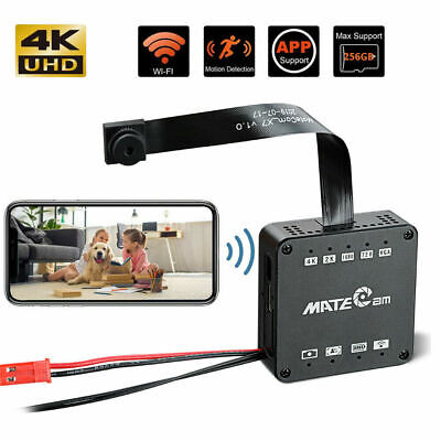 Real 4K DIY Wireless Spy Camera Motion Detection 4000mah Nanny APP Security Cam