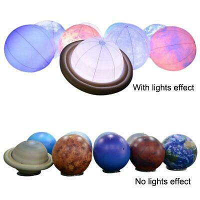 Inflatable Planets Solar System 8 Planets+Pluto+Sun+moon 3.3ft Lighting Balloons - Inflatable Planets