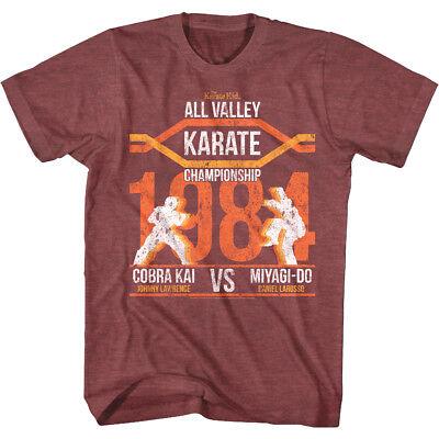 Johnny Karate Kid (Karate Kid Versus Cobra Kai Fight Poster Men's T Shirt Johnny v Daniel)