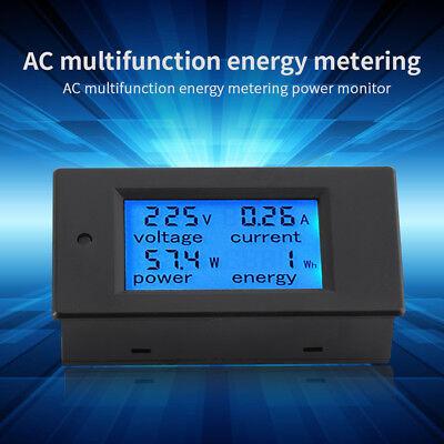 Digital Ac 20a Power Meters Monitor Volt Amp Kwh Watt Cambo Energy Meter W Case