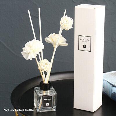 UK AROMA NATURAL FLOWER REED DIFFUSER OILS GLASS REFILL ROOM AIR FRESHENER OIL