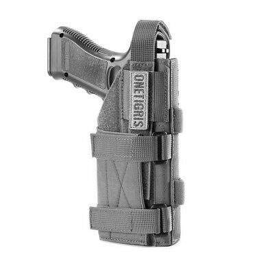 - OneTigris Tactical Molle Minimalist Gun Pistol Holster Adjustable for Right Hand