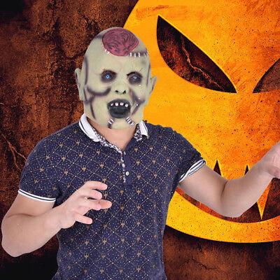 Halloween Latex Maske Horror Mumie Zombie Monster Karneval Fasching Kostüm LI DE ()