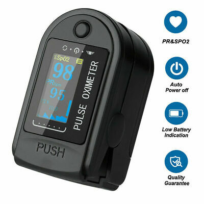 Portable Oled Fingertip Pulse Oximeter Blood Oxygen Saturation Finger Spo2 Pr