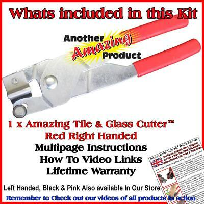 The Amazing Tile And Glass Cutter™ Ceramic Floor Mirrors Stained Glass Mosaics 2