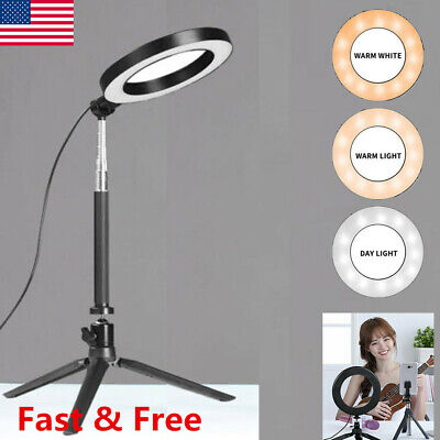 Fill Light Kit (LED Ring Light Video Studio Photo Tripod Stand Selfie Camera Phone Fill Light)