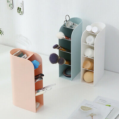 Vertical Storage Box Pencil Brushes Cosmetics Tool Holder Organizer Case -