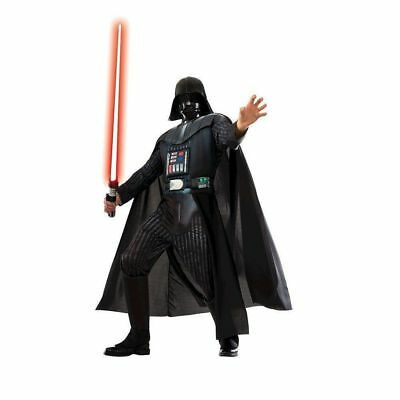 BRAND NEW Star Wars Darth Vader Adult Costume Mens Medium 38-40 Rubie's Cosplay ()