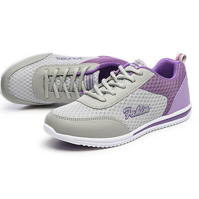 women's breathable casual mesh athletic sneakers sports