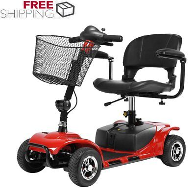 4 Wheel Power Scooter Drive Medical Mobility Disability Handicap Spitfire Scout#