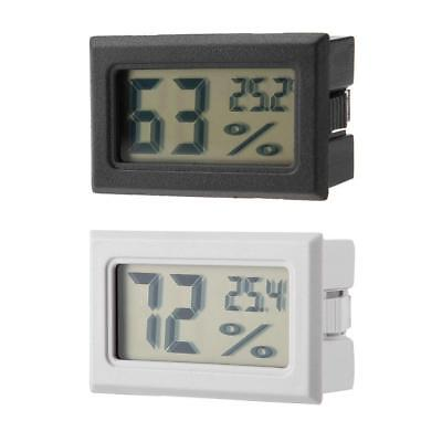 Thermometer and Humidity Gauge Hygrometer with Built-in Probe Sensor Easy Read