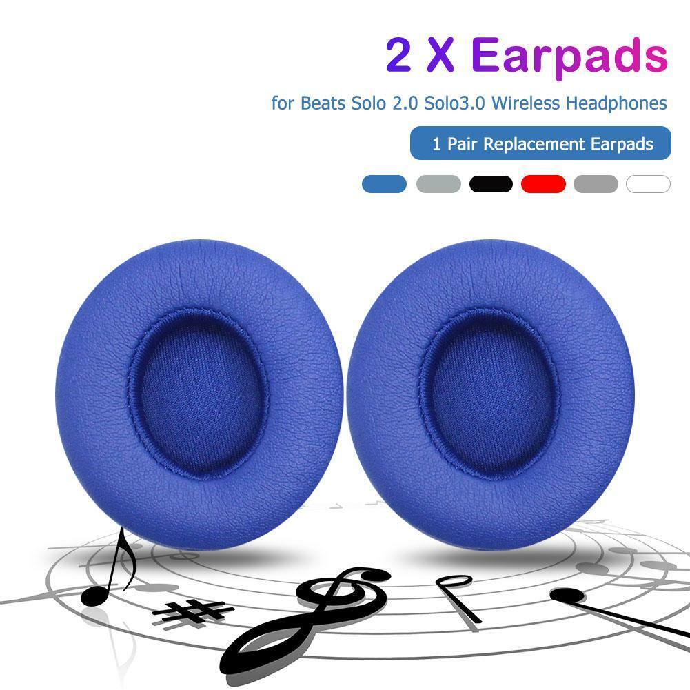 2pcs Earmuffs Memory Foam Cushions Earpads for Beats Solo 2/