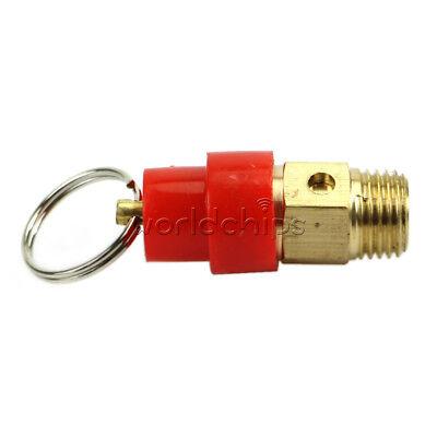 1/4'' 6KG Brass Air Compressor Safety Relief Valve Pressure Release Regulator
