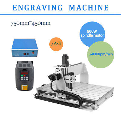 3 Axis 6040 Desktop Cnc Router Engraver Milling Machine Engraving Drilling