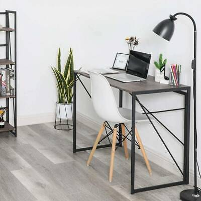 Foldable Computer Desk Folding Laptop Table Home Office Study Gaming Workstation