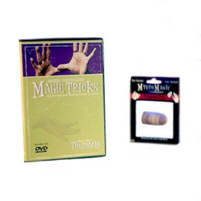 Amazing Easy to Learn Magic Tricks DVD w/ Thumbtip Dvd Amazing Magic Tricks