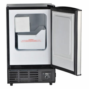 SMAD Automatic Ice Maker & Storage Freezer Built-In Countertop Home Kitchen