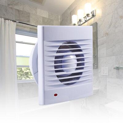"""4"""" 6"""" Ventilation Extractor Exhaust Fan Blower Window Kitchen Bathroom Toilet"""