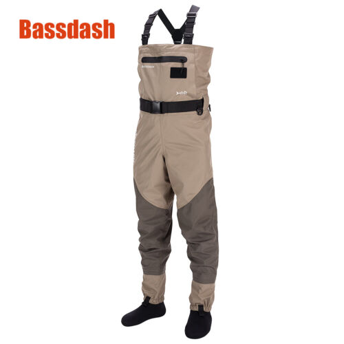 Bassdash Fishing Wading Pants Boots Waterproof Chest Waders Clothes Overalls New