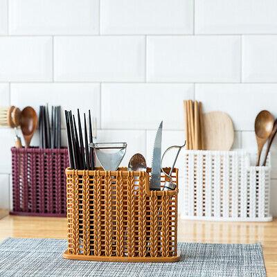 Cutlery Holder Drainer Storage Spoon Chopsticks Organizer Rack Home Kitchen Tool