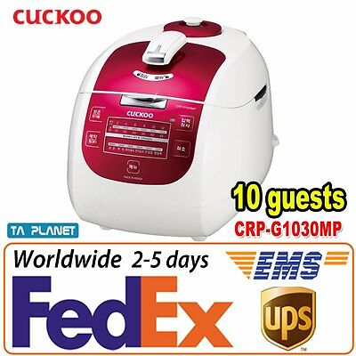 [10 Cups] CUCKOO Korea Best Selling Pressure Rice Cooker