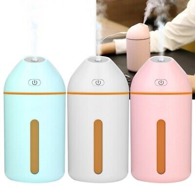 USB Charging Humidifier Ultrasonic Cold Mist Air Purifier LE