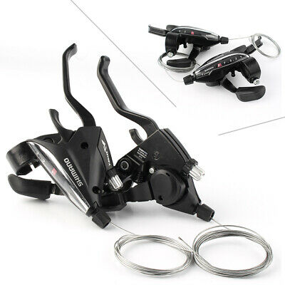 Shifters With cable 2//3 Speed 789 Manual Transmission Brake Brake Levers