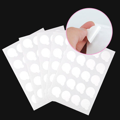200Pcs Disposable Glue Cover Sticker Gasket For Eyelash Extension Makeup Sweet