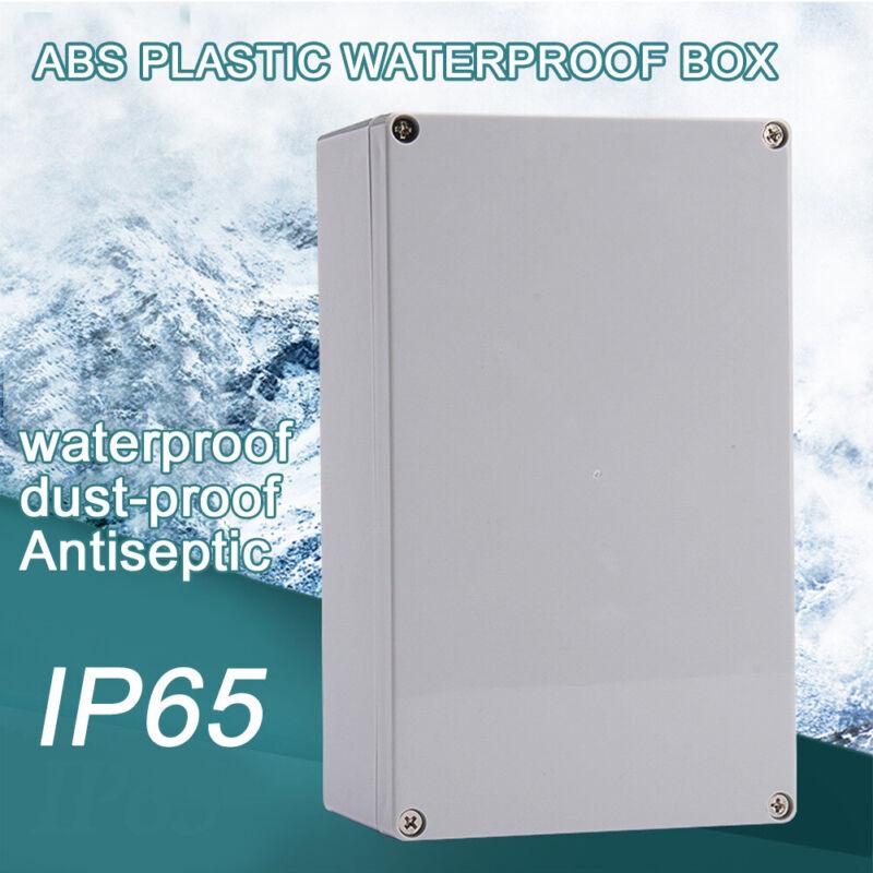 Durable Junction Box Enclosure Case Electrical Project Terminal Waterproof Diy