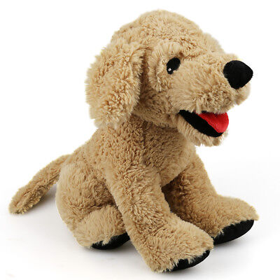 Soft Stuffed Animals (12'' Plush Dog Puppy Stuffed Animals Soft Cuddly Golden Retriever Kids Doll)