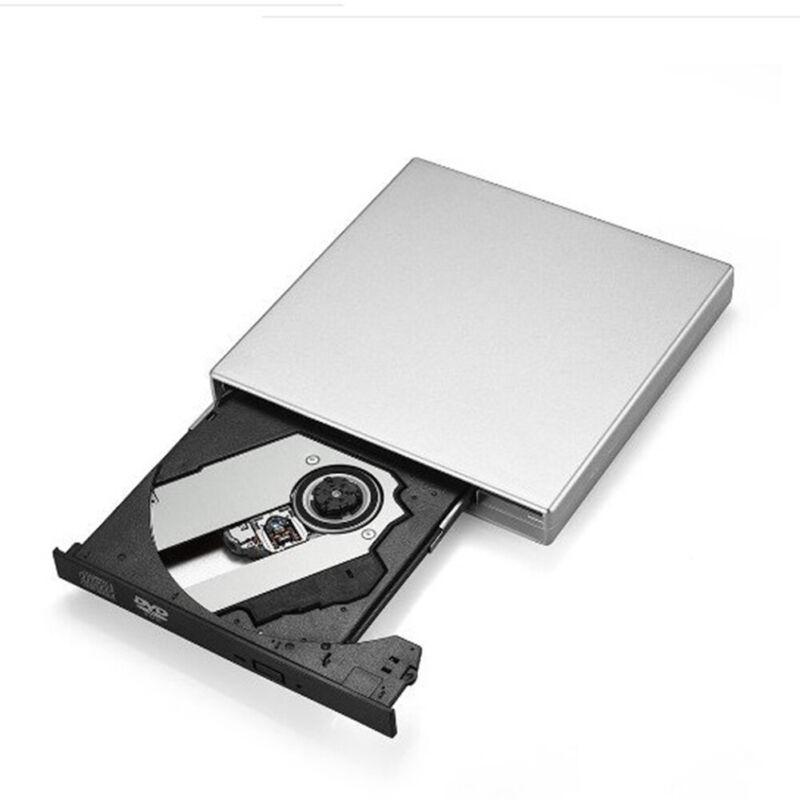 Portable USB 2.0 External DVD Optical Drive Player Reader for Computer Laptop