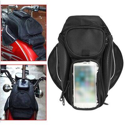 Magnetic Motorcycle Motorbike Oil Fuel Tank Bag Waterproof Saddlebag -