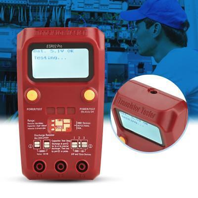 Bside Esr02 Digital Transistor Tester Smd Esr Mosfet Capacitor Resistor