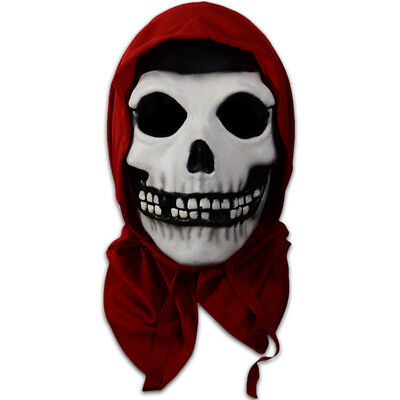 Authentic MISFITS Band Red Hood Fiend Halloween Mask NEW (Misfits Halloween Mask)