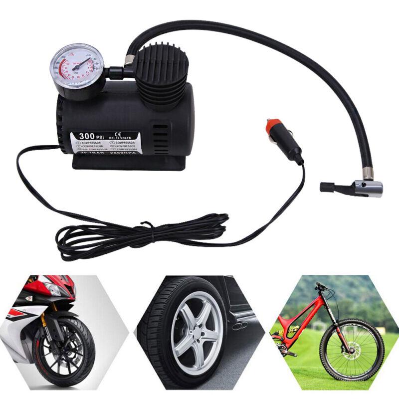 Portable 300PSI 12V Mini Air Compressor Auto Car Electric Ti