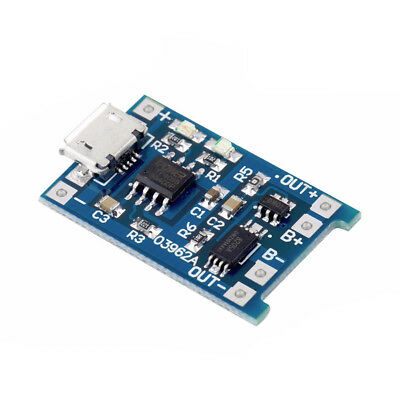 10 Pcs Tp4056 1a Li-ion Battery Charging Board Lithium Charger Module Mini Usb