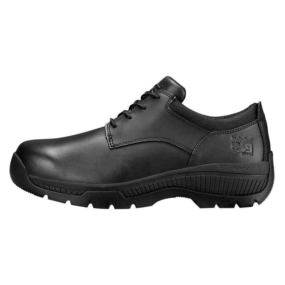 Timberland PRO Men's Valor Oxford Soft Toe Leather Work Shoes NEW