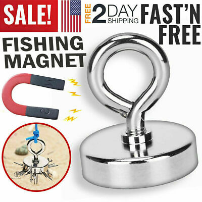 1.65 Magnet Lifting Hook For Magnetic Retrieving Treasure Hunt Collect Fishing