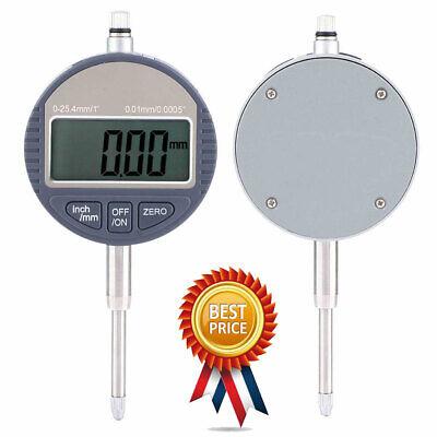 0.01mm0.0005 Inch Range 0-25.4mm1 Gauge Digital Dial Indicator Precision Tool
