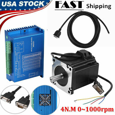 Hss86 Servo Driver Nema34 Closed-loop 4n.m Stepper Servo Motor