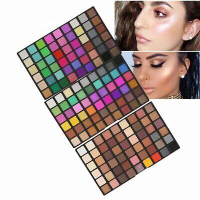 162 Farben Eyeshadow Make-Up Set Glitzer Matte Shadow - Make Up Palette